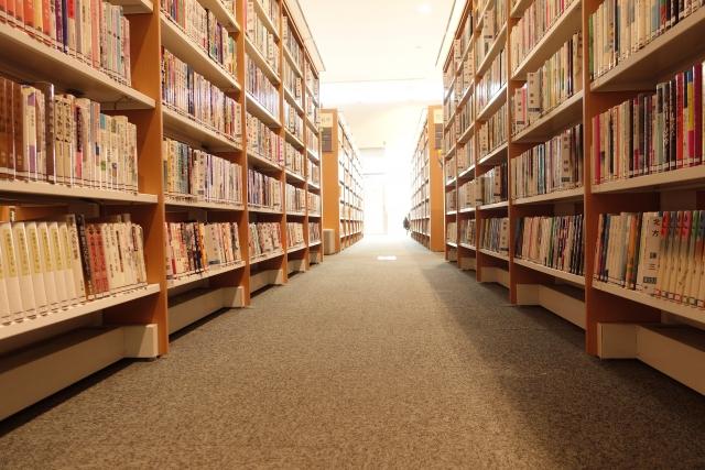 大学図書館イメージ
